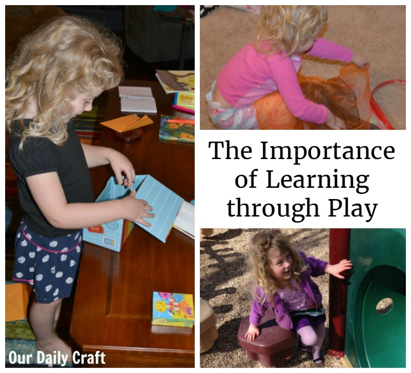 Why learning through play is important for kids' learning.
