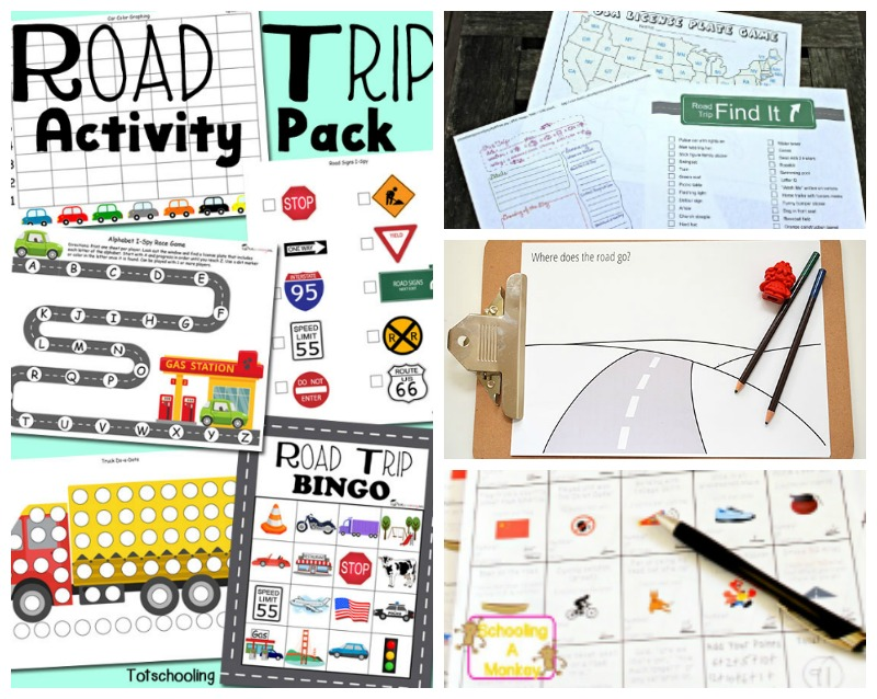 """Try these awesome road trip activities and you may never hear """"Are we there yet?"""" again."""