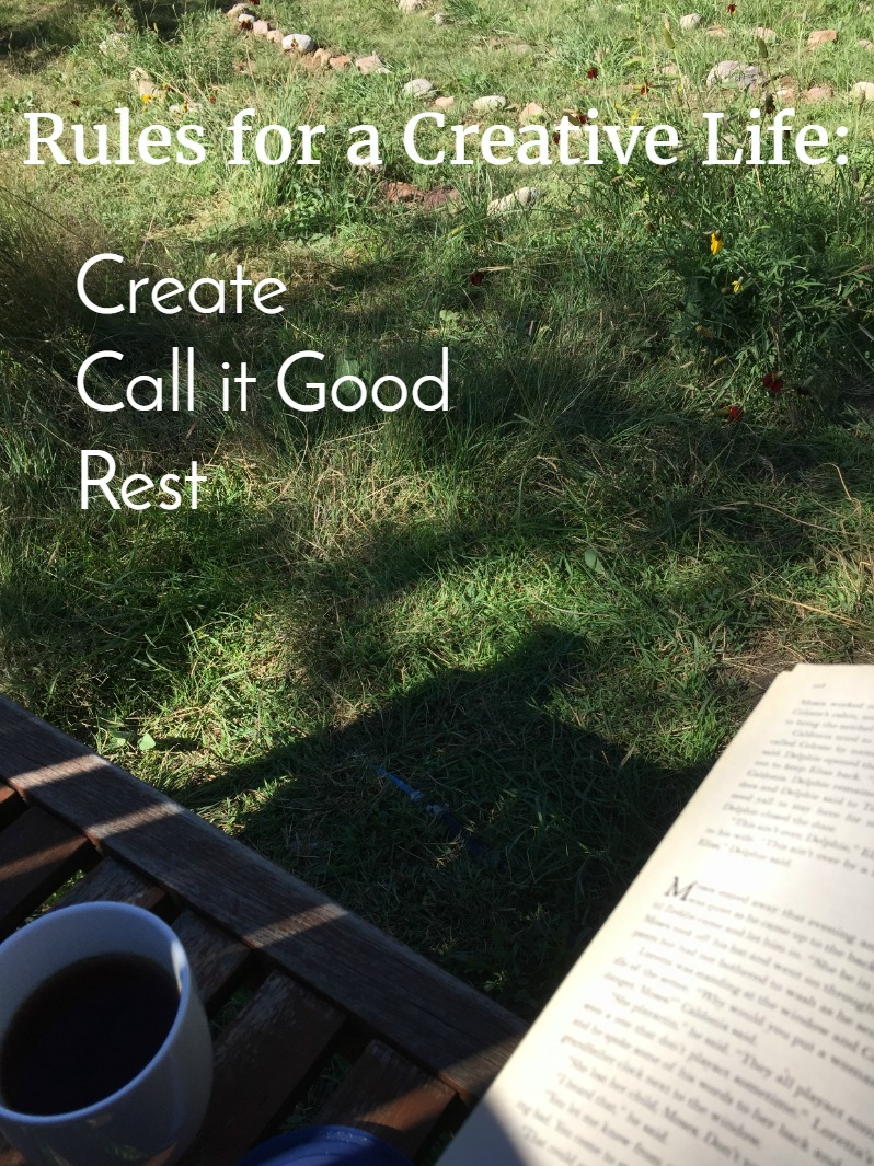 rules for living a creative life