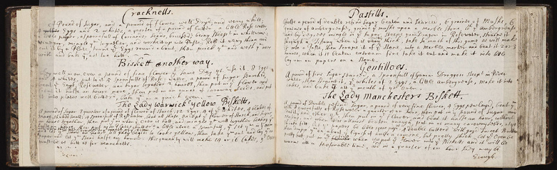commonplace book recipes