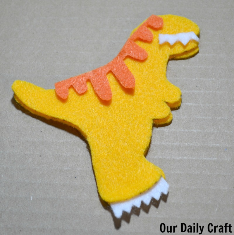 Make a dinosaur softie inspired by Dino Dana.