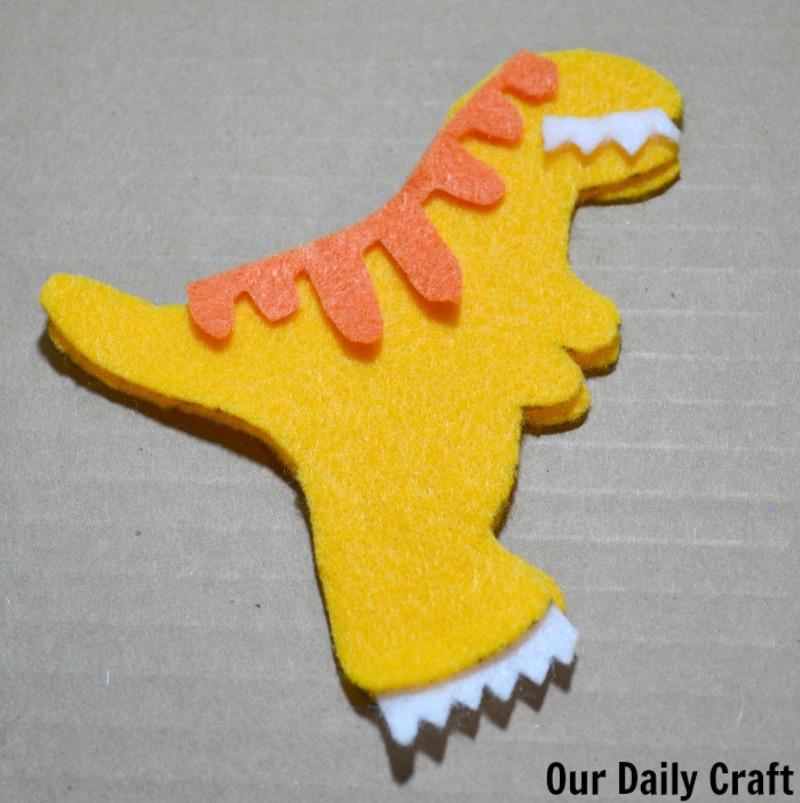 Make a dinosaur softie inspired by Dino Dana.