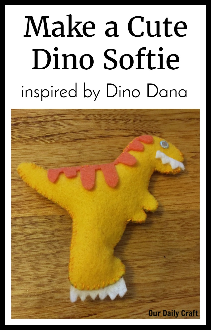 Make a Dinosaur Softie Inspired by Dino Dana