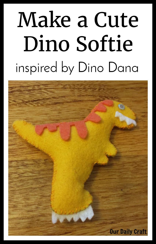 dinosaur softie dino dana