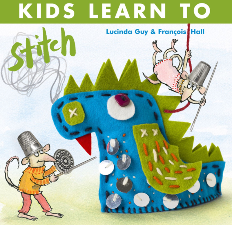 encourage kids to learn how to sew with kids learn to stitch