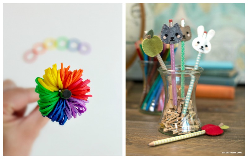 pencil crafts for back to school and beyond