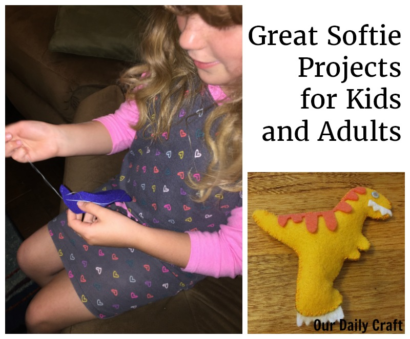 softie sewing projects for kids and adults