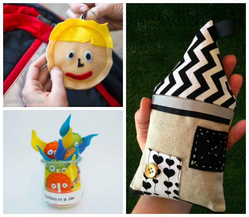 softies to sew for kids and adults