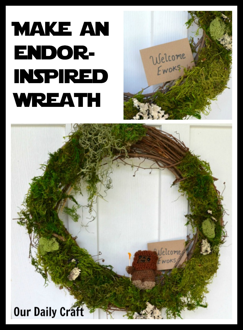Make an Endor-Inspired Door Wreath