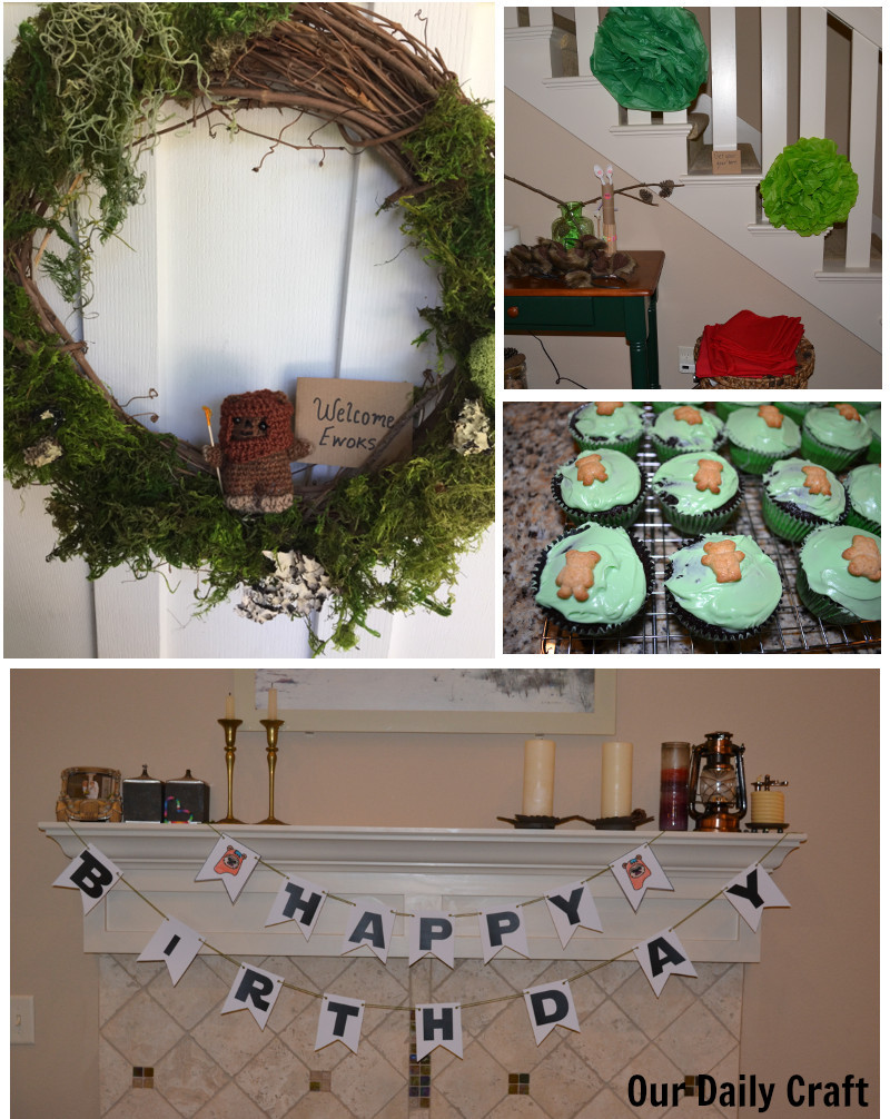 ewok bithrday party ideas