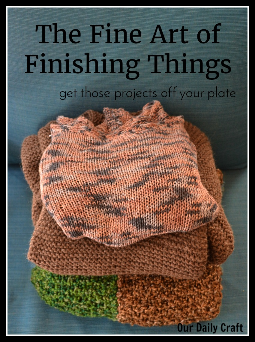 The Fine Art of Finishing Things