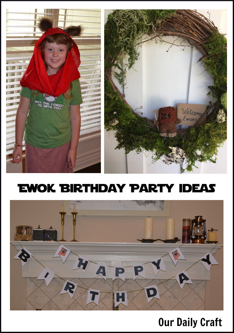 Ewok Birthday Party Ideas Your Kid Will Love