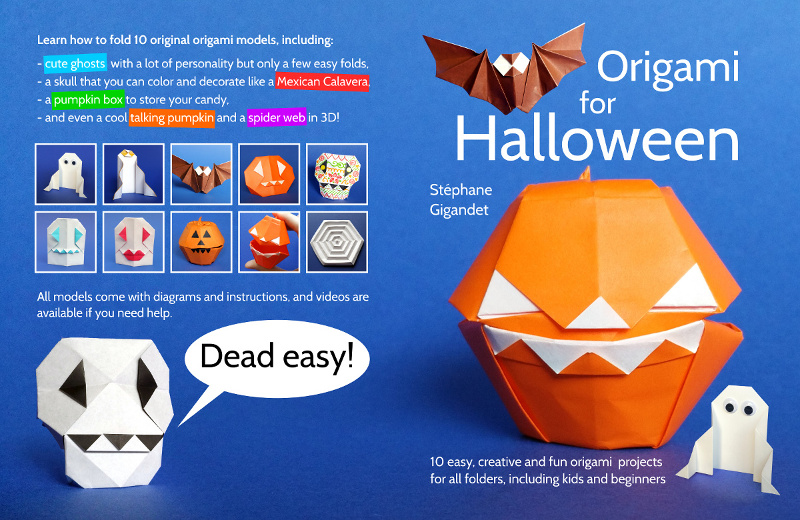 Halloween Origami is a Fun Way to Fold
