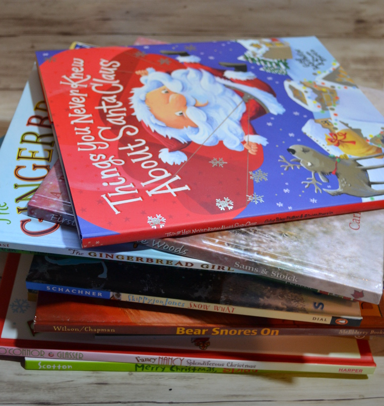 Ideas for your book advent calendar, including holiday books, winter books and more.