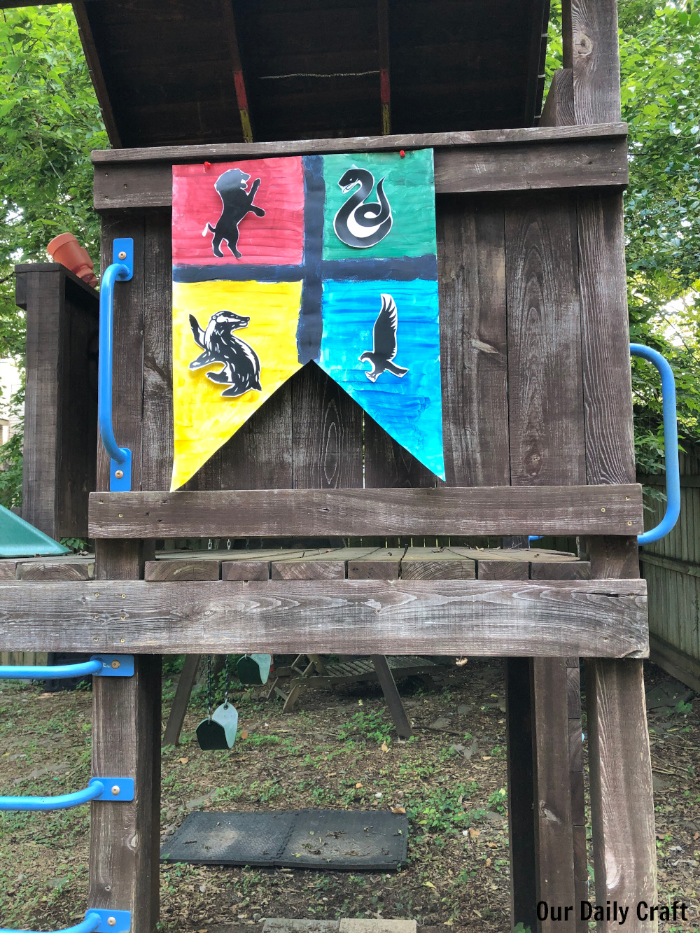 Easy Outdoor Harry Potter Birthday Party