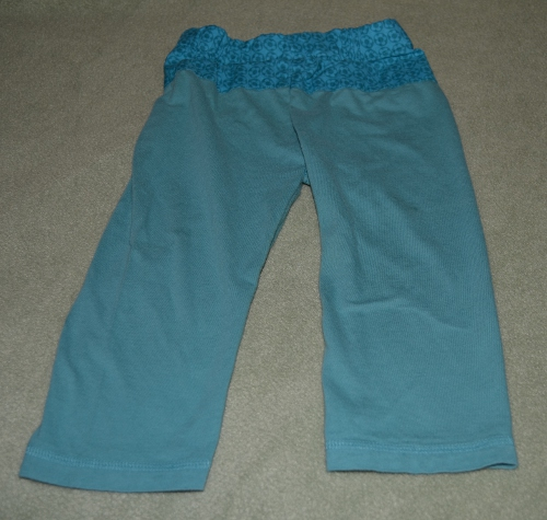 Pinterest Pants and Getting Started Sewing Again
