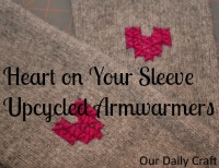 Wear Your Heart on Your Sleeve and Keep Your Arms Warm