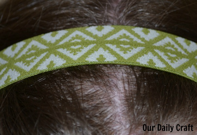 Make Your Own Hair Elastics and Headbands
