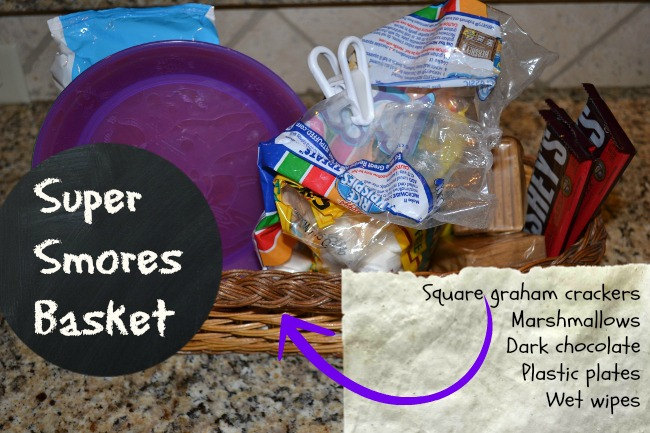 Super Smore Basket for Summer (and Fall!)