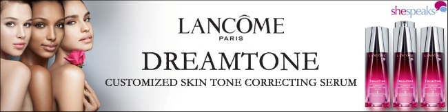 Sharing a #bareselfie with Lancome
