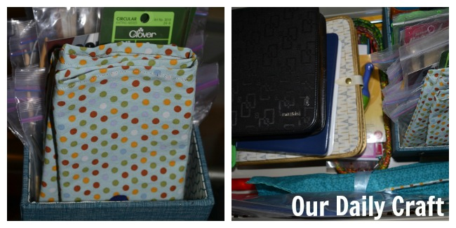 Quick and Easy Storage Pouches {Iron Craft Challenge}