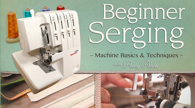 Learn Serging with a Free Class from Craftsy