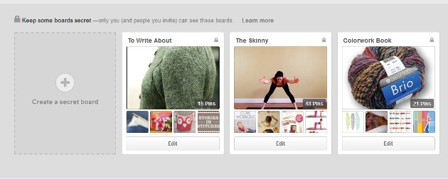 Spring Clean Your Pinterest: Hide Your Mess with Private Boards