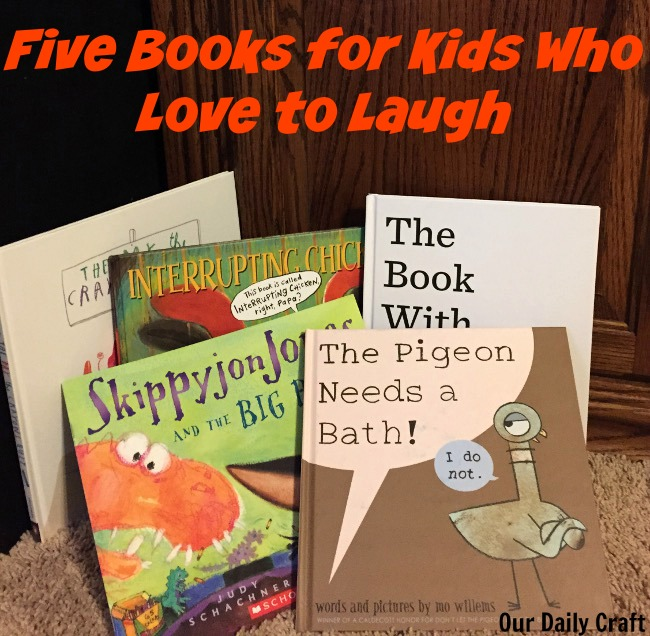 Five Great Books for Kids Who Love to Laugh