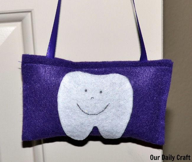 Make a Quick Tooth Fairy Pillow to Hang on a Door