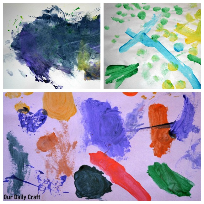 Found Object Print Making with Kids