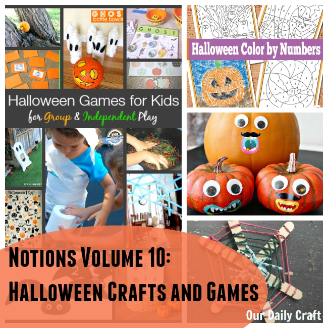 Notions: Halloween Crafts and Games