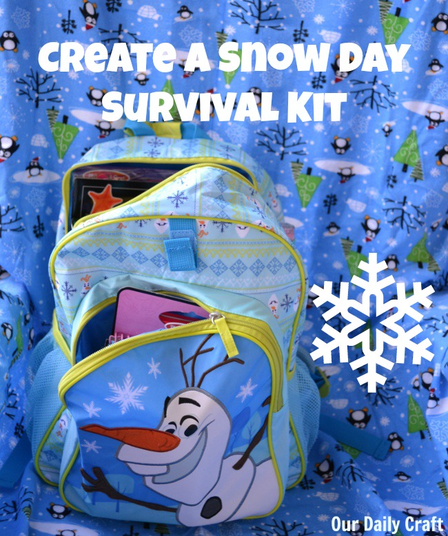 Build a Snow Day Survival Kit to Celebrate the First Snow