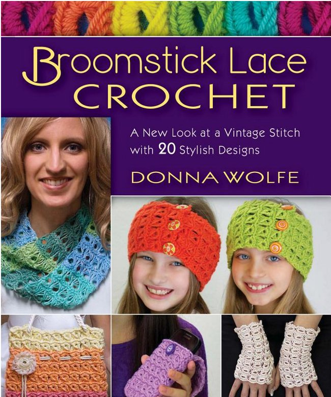 A Classic Technique Made New: Broomstick Lace Crochet
