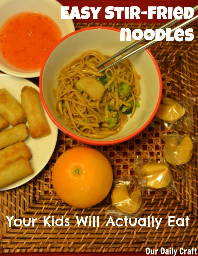 Celebrate Chinese New Year with Stir-Fried Noodles and Easy Add-ins