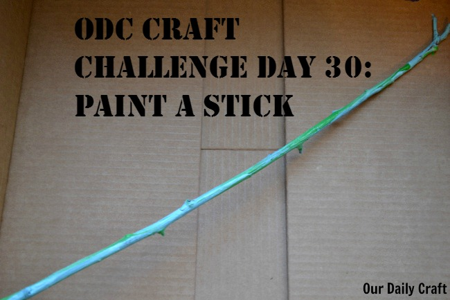 Paint a Stick