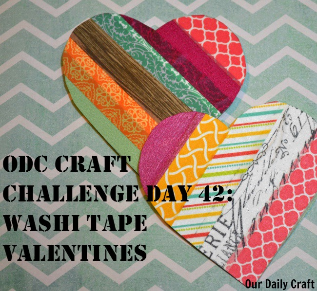 Make a Washi Tape Craft