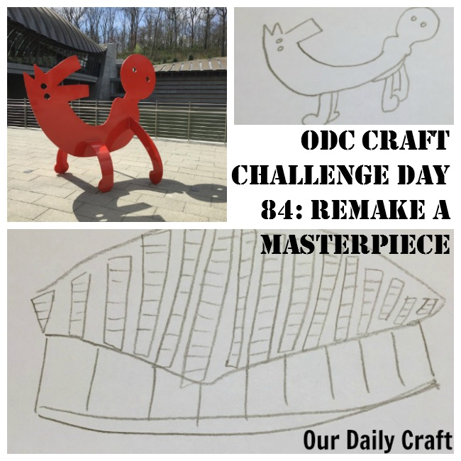 Remake a Masterpiece {Craft Challenge, Day 84}