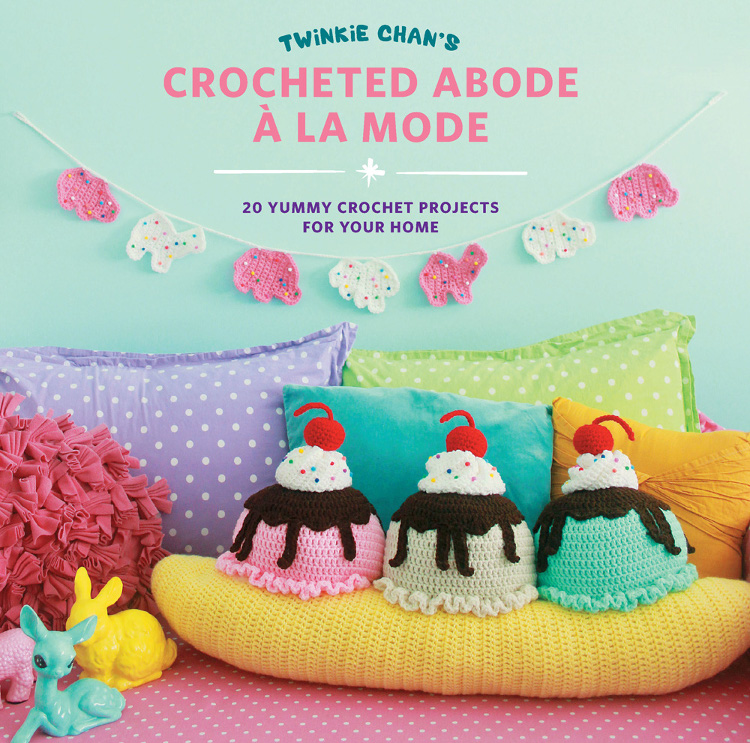 Crochet Yummy Home Decor with Crocheted Abode a la Mode