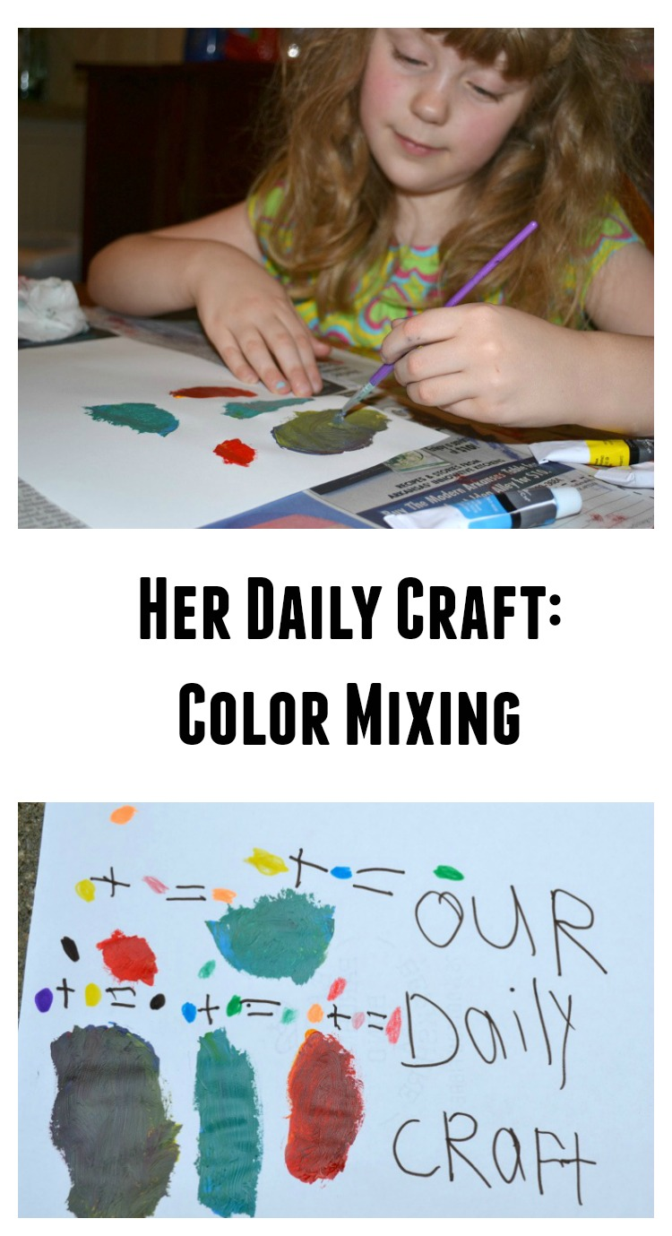Her Daily Craft: Color Mixing