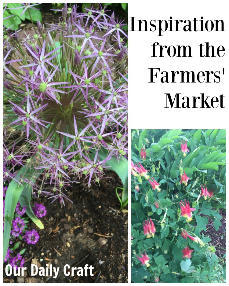Inspiration from the Farmers' Market