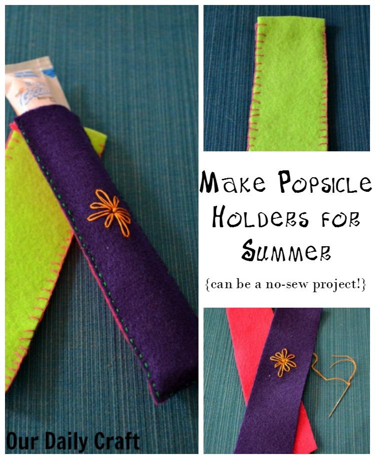 Make Popsicle Holders to Make Your Summer Easier