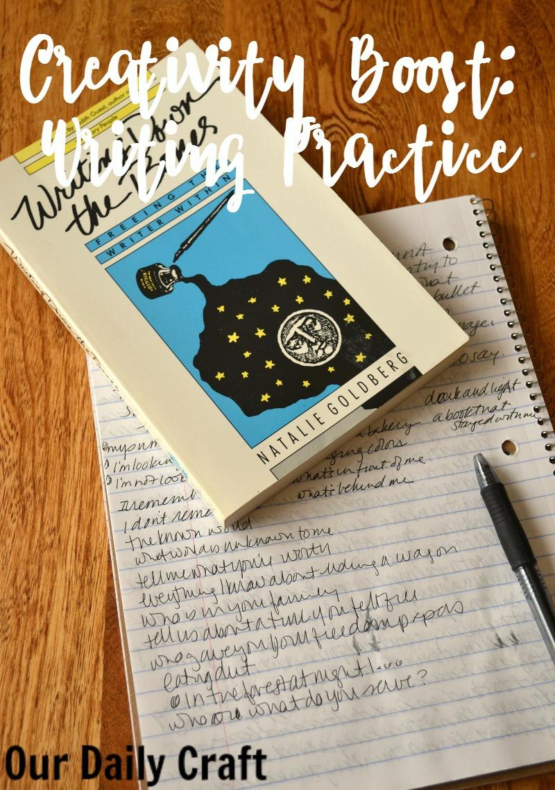 Creativity Boost: Writing Practice