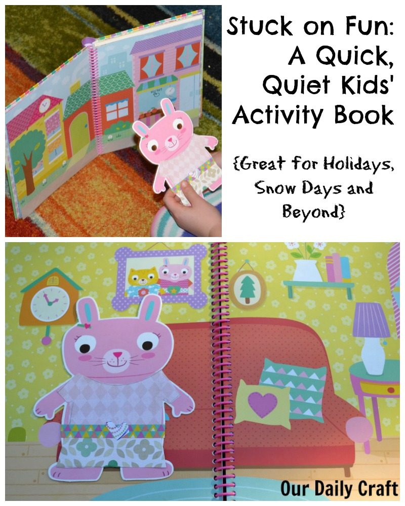 Keep Quick Crafts for Kids on Hand with Stuck on Fun