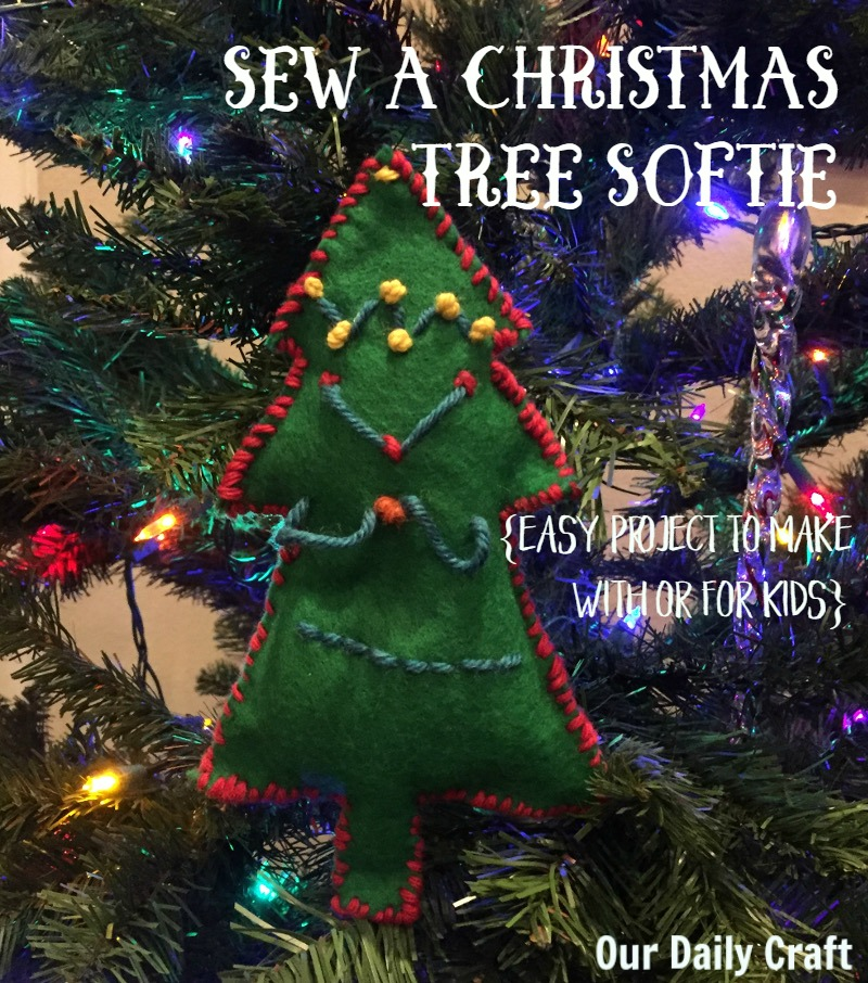 Sew a Christmas Tree Softie