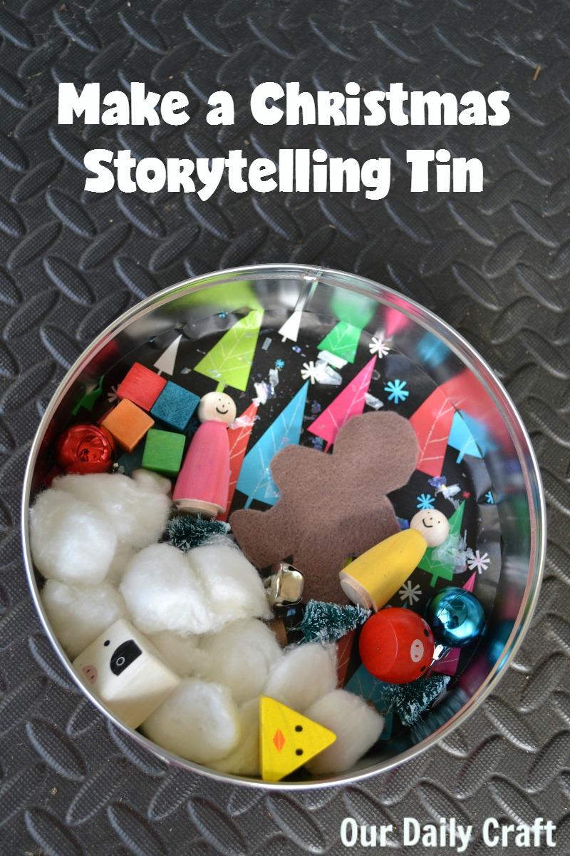 A Christmas Storytelling Tin and Make Your Mark