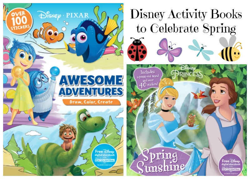 Great Disney Activity Books for Kids to Celebrate Spring