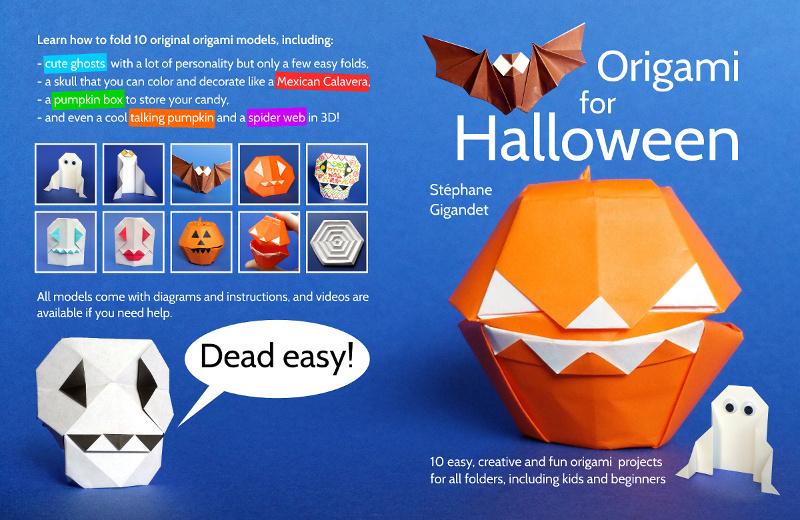 Halloween Origami is a Fun Way to Fold