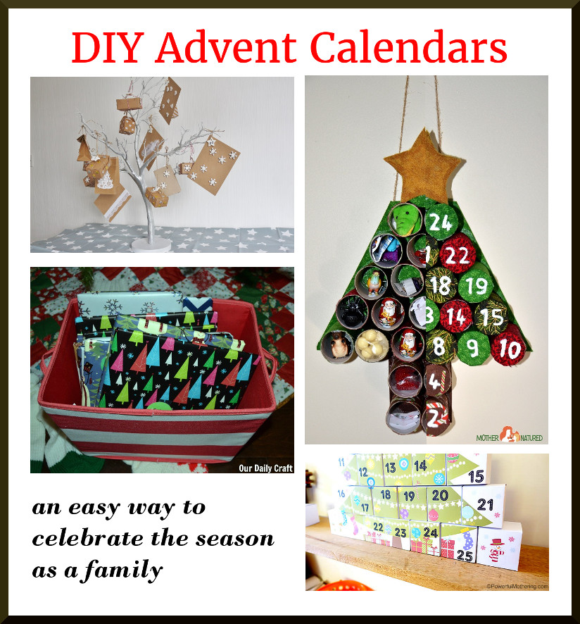 Celebrate the Season with These DIY Advent Calendars