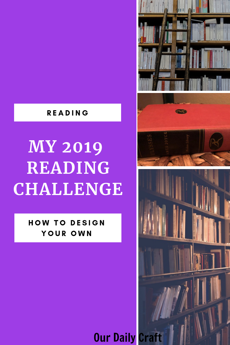 how to design a reading challenge and read books you've always wanted to