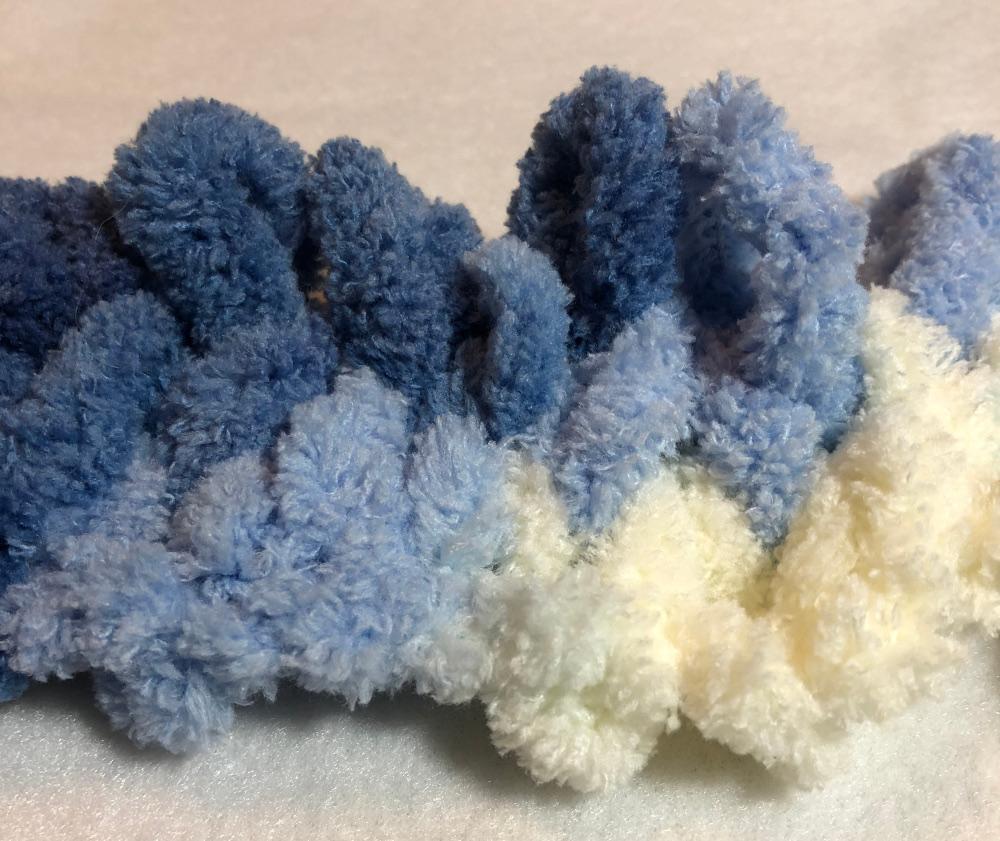 loop yarn stockinette stitch